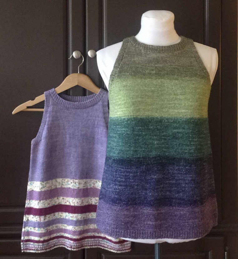 Knitted Summer Tops Patterns : Knitting Patterns