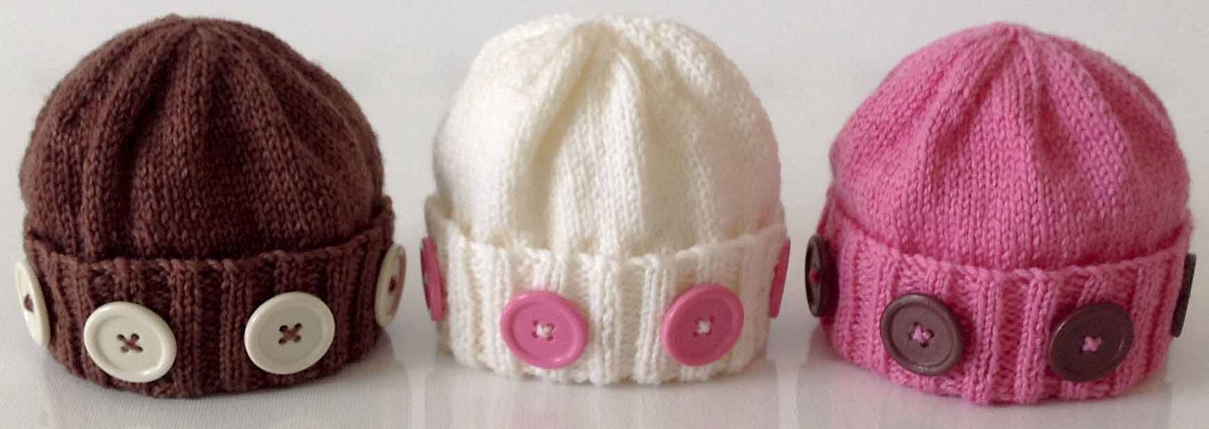 knitting patterns for preemies, babies and children