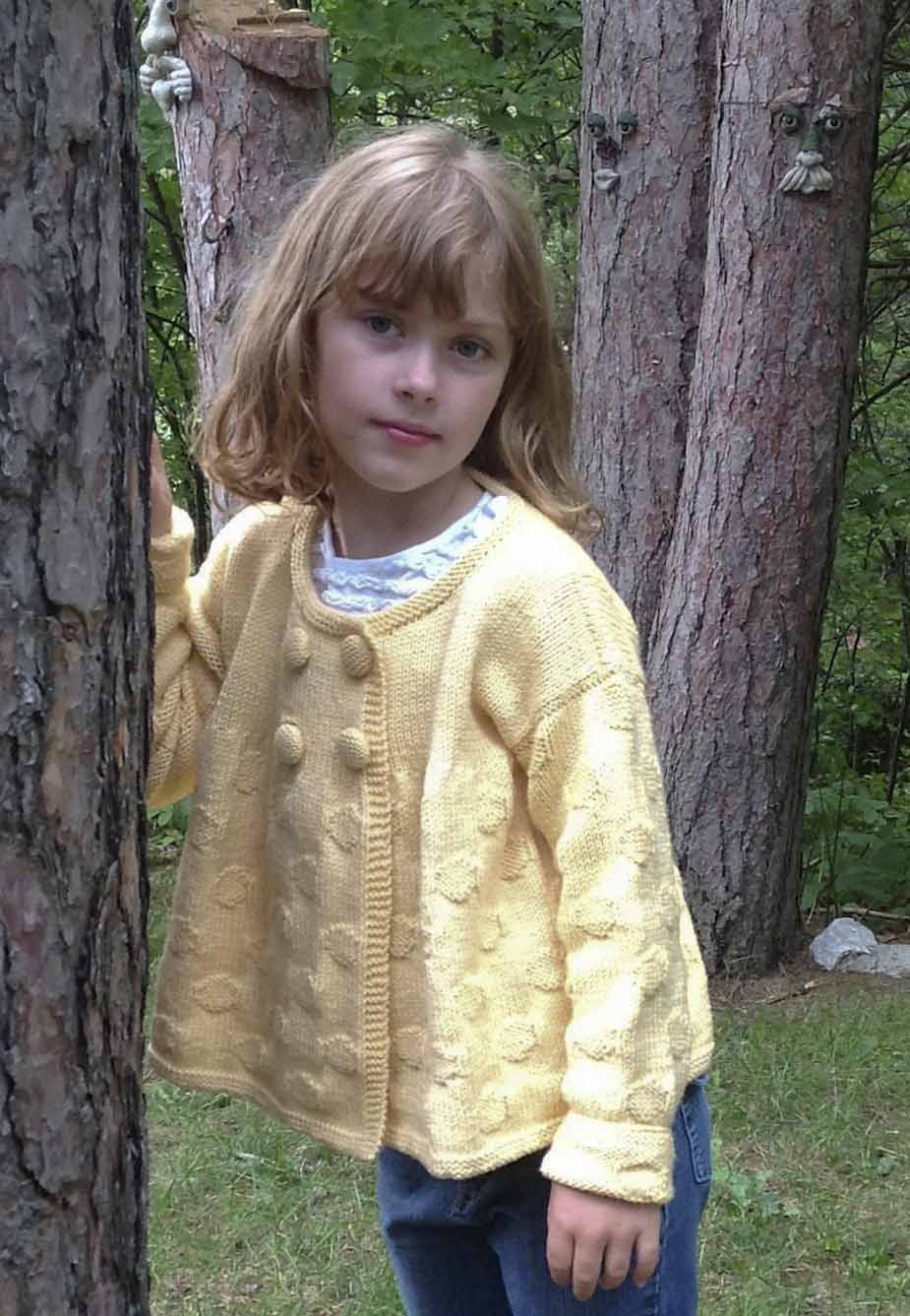 Knitting Patterns For Girl Sweaters : Knitting Patterns